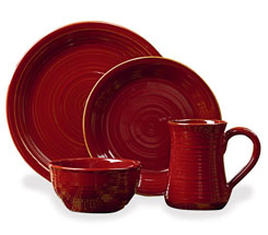 Aspen Red Dinnerware