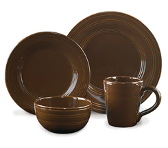 Casual Classics Chocolate Dinnerware