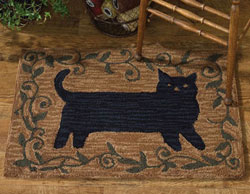 primitive rugs | hand-hooked and braided country rugs